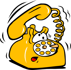 yellow-phone-ringing